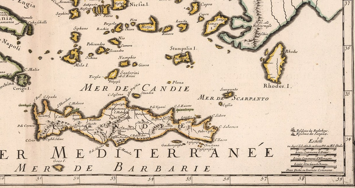 1670 - This is a very rare edition of Sanson's maps, published by his son, Guillaume Sanson.jpg