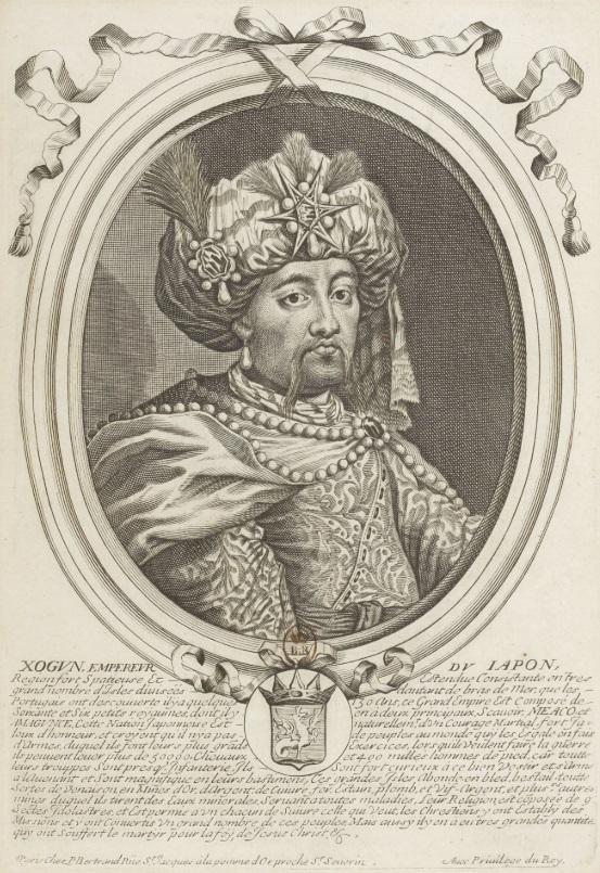 1690 - Nicolas de Larmessin.Xogun, empereur du Japon.jpg