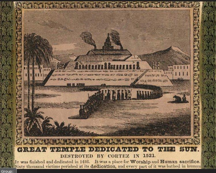 1847 templo del sol destruido tenochtitlan.jpg