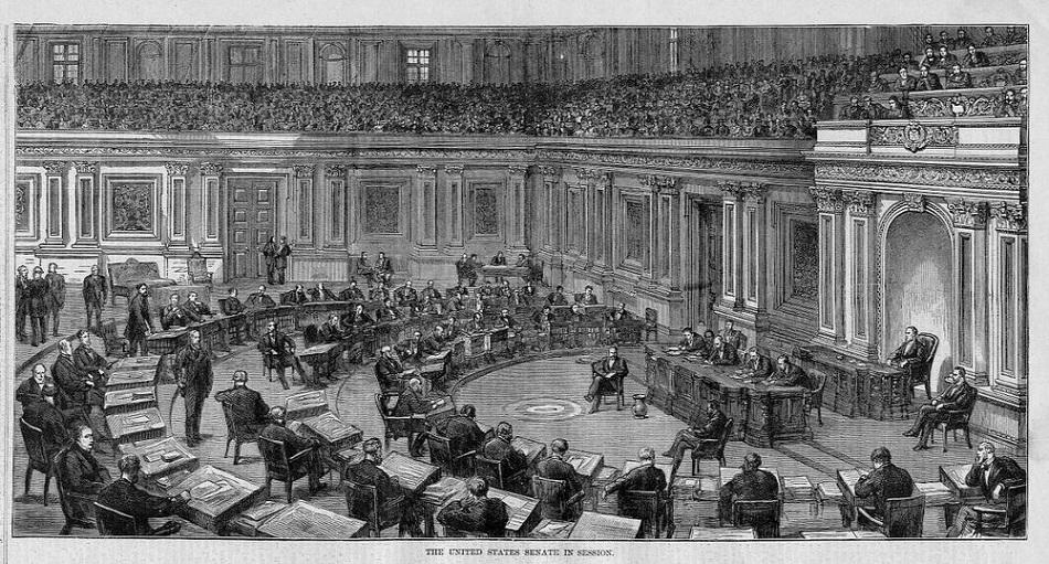 1874 - The United States Senate in session.jpg