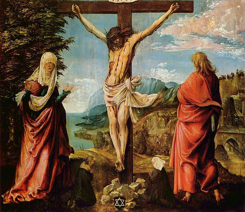 832px-Albrecht_Altdorfer_-_Christus_am_Kreuz_mit_Maria_und_Johannes.jpg