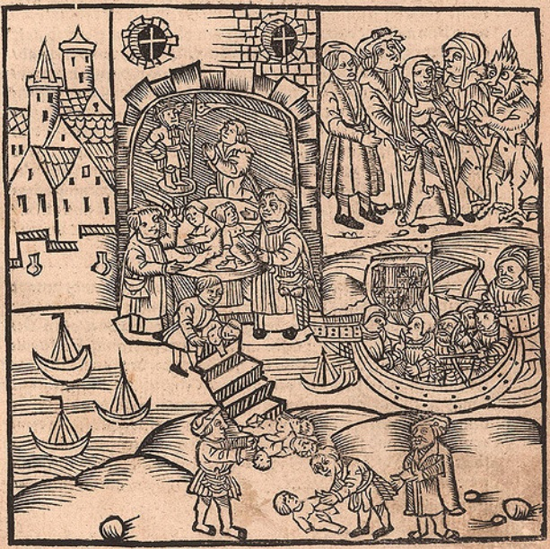 Aztec religious ceremony involving human sacrifice.jpg
