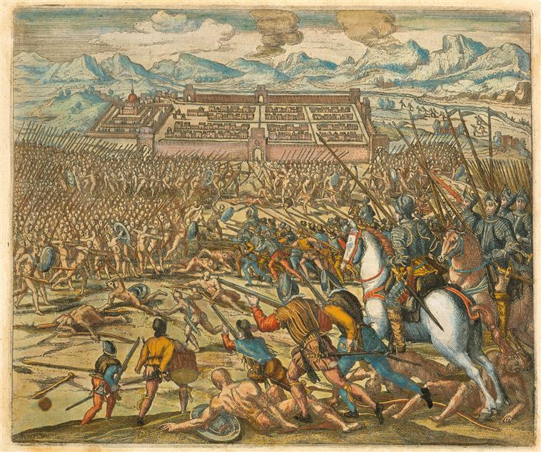 Batalla del Cusco (1536) entre incas versus españoles.jpg