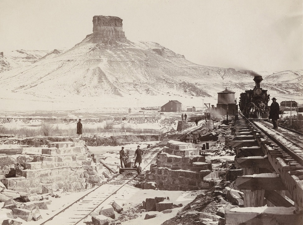 Construction of the Union Pacific Railway in Wyoming and Utah.jpg