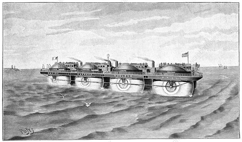 Ernest_Bazin_roller_ship,_1897.jpg