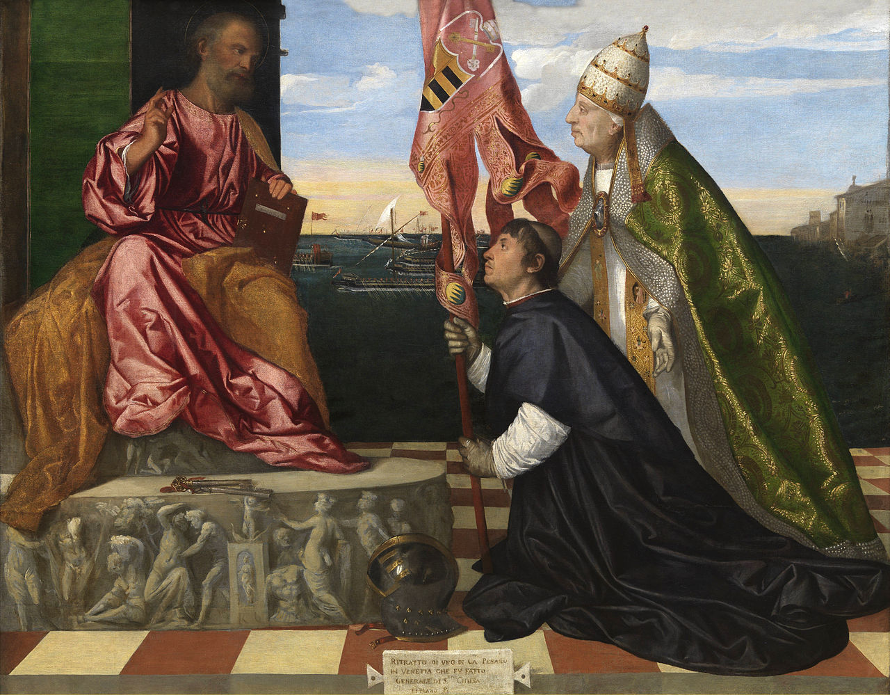 Jacopo_Pesaro_presented_to_St._Peter_by_Pope_Alexander_VI_-_Tizian-2.jpg