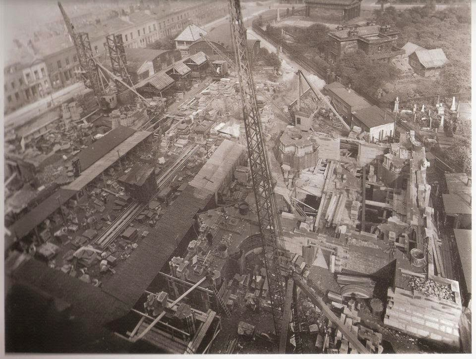 The Anglican cathedral under construction in 1927.jpg