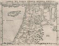 1561 - Soria et Terra Santa Nuova Tavola.jpg
