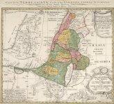 1750 - Palaestina in XII Tribus.jpg
