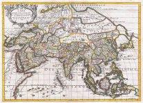 Map of Asia - Guglielmo Sansone - 1697.jpg